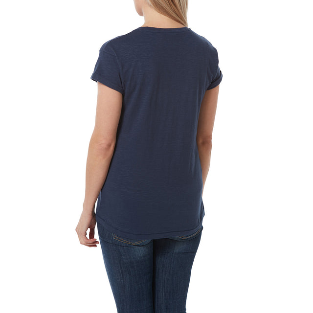 Sowden Womens T-Shirt - Naval Blue image 3