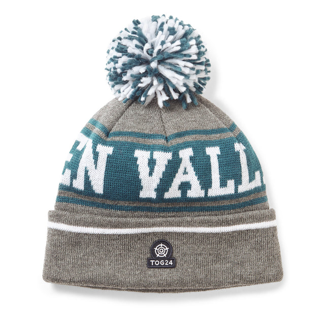 Spen Valley Knit Beanie - Grey Marl