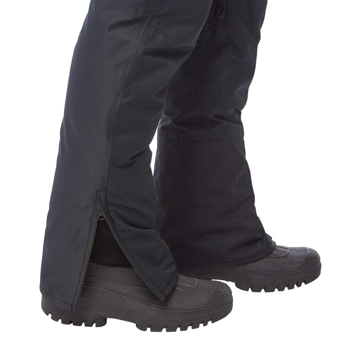 Spike Mens Waterproof Insulated Ski Pants - Black image 4