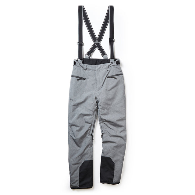 Spike Mens Waterproof Insulated Ski Pants - Grey Marl image 5