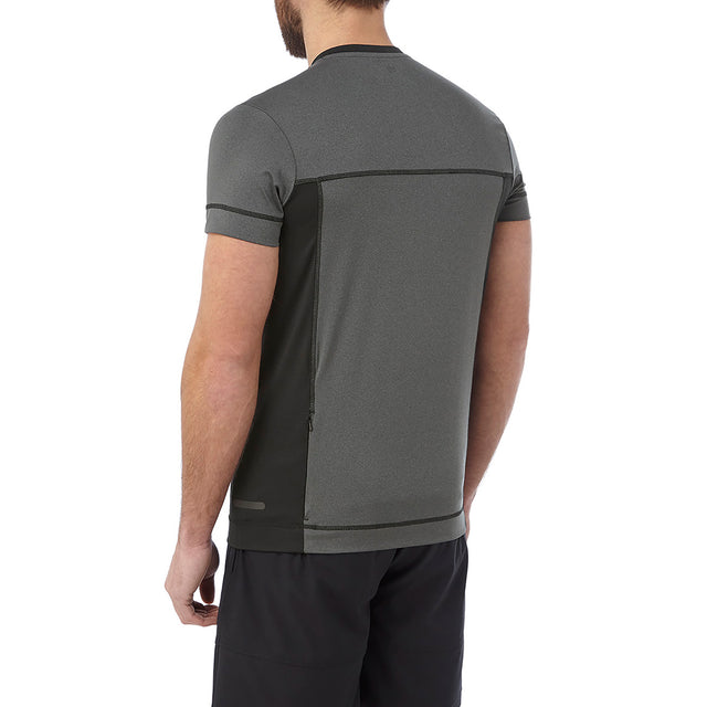 Sprint Mens Performance T-Shirt - Grey Marl image 3