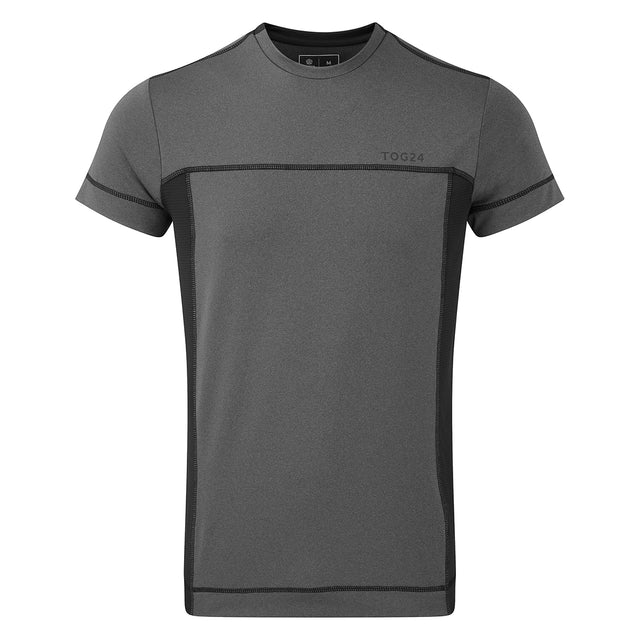 Sprint Mens Performance T-Shirt - Grey Marl image 1