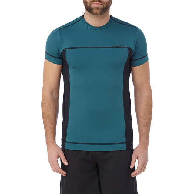 Sprint Mens Performance T-Shirt - Lagoon Blue image 2