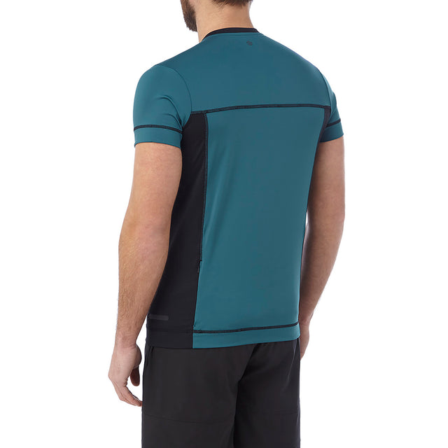 Sprint Mens Performance T-Shirt - Lagoon Blue image 3