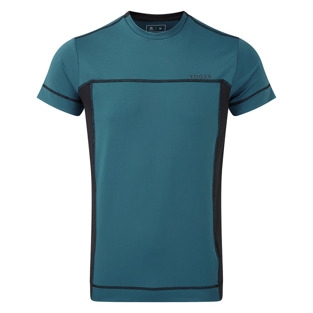 Sprint Mens Performance T-Shirt - Lagoon Blue image 1