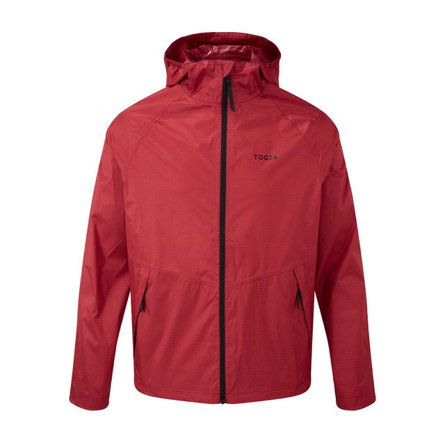 Stern Mens Performance Waterproof Jacket - Chilli Red image 1