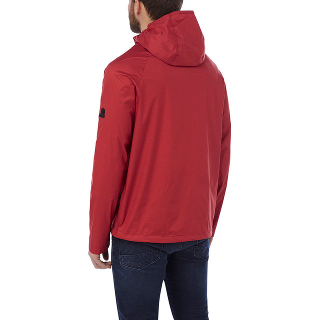 Stern Mens Performance Waterproof Jacket - Chilli Red image 3