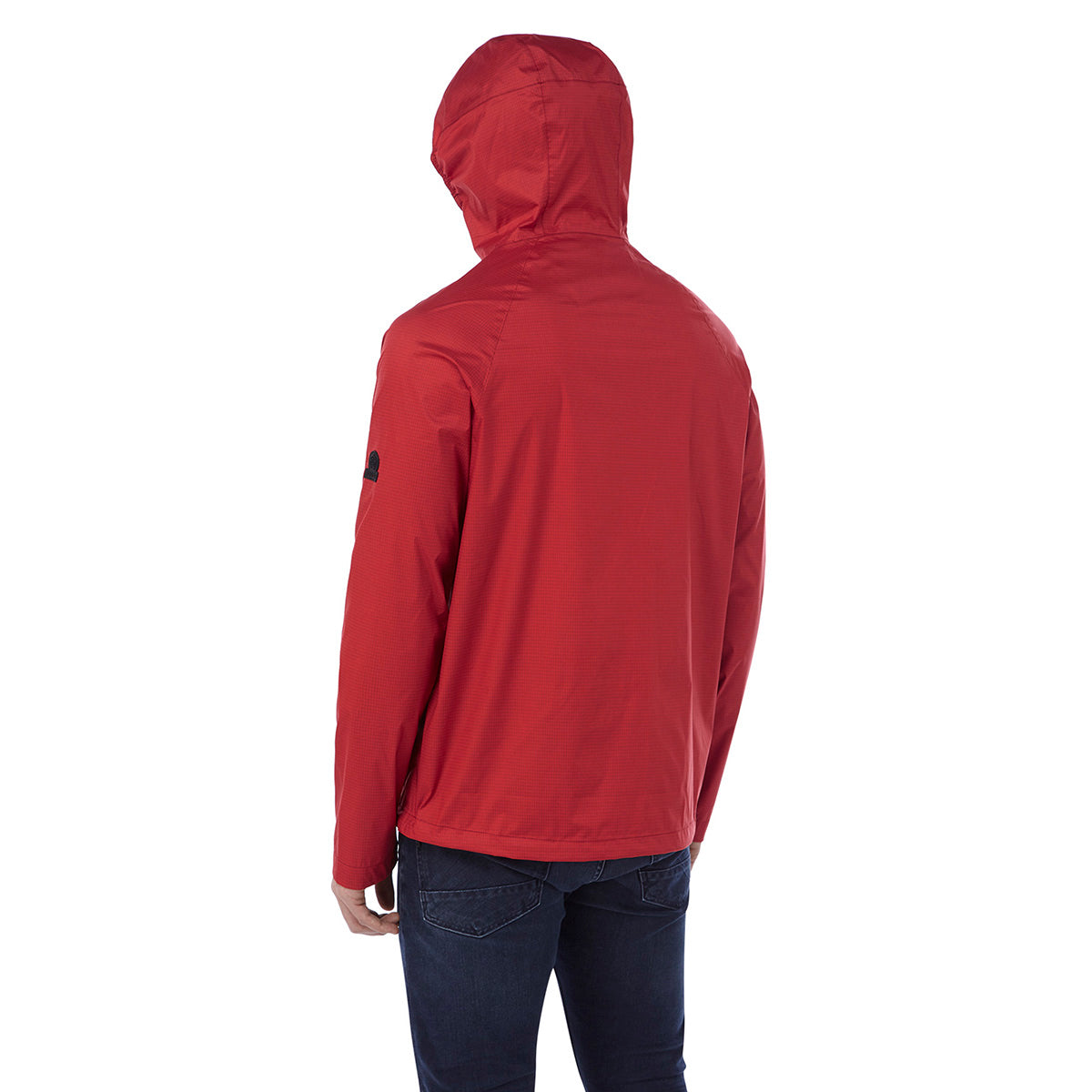 Stern Mens Performance Waterproof Jacket - Chilli Red image 4
