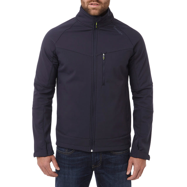 Strategy Mens TCZ Softshell Jacket - Navy image 2
