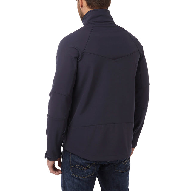 Strategy Mens TCZ Softshell Jacket - Navy image 3