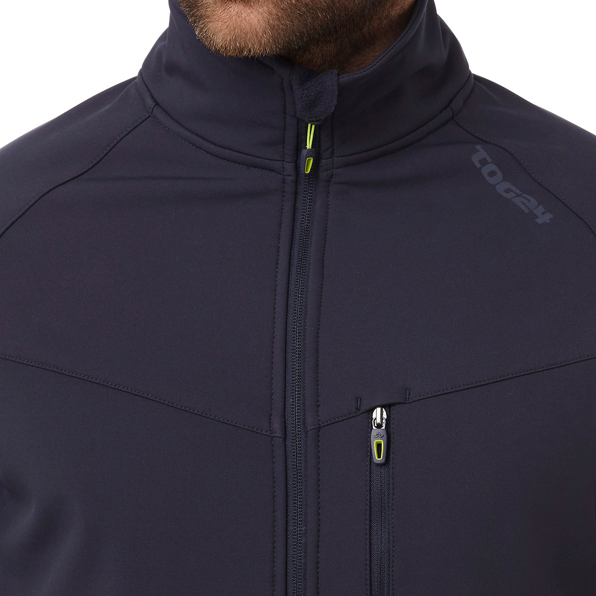 Strategy Mens TCZ Softshell Jacket - Navy image 4