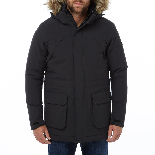 Superior Mens Milatex Jacket - Black image 2