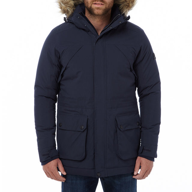 Superior Mens Milatex Jacket - Navy image 2