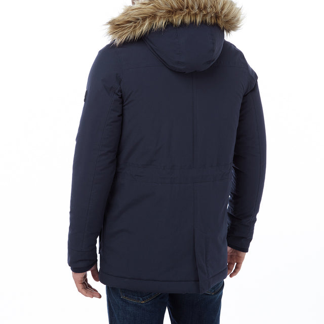 Superior Mens Milatex Jacket - Navy image 3
