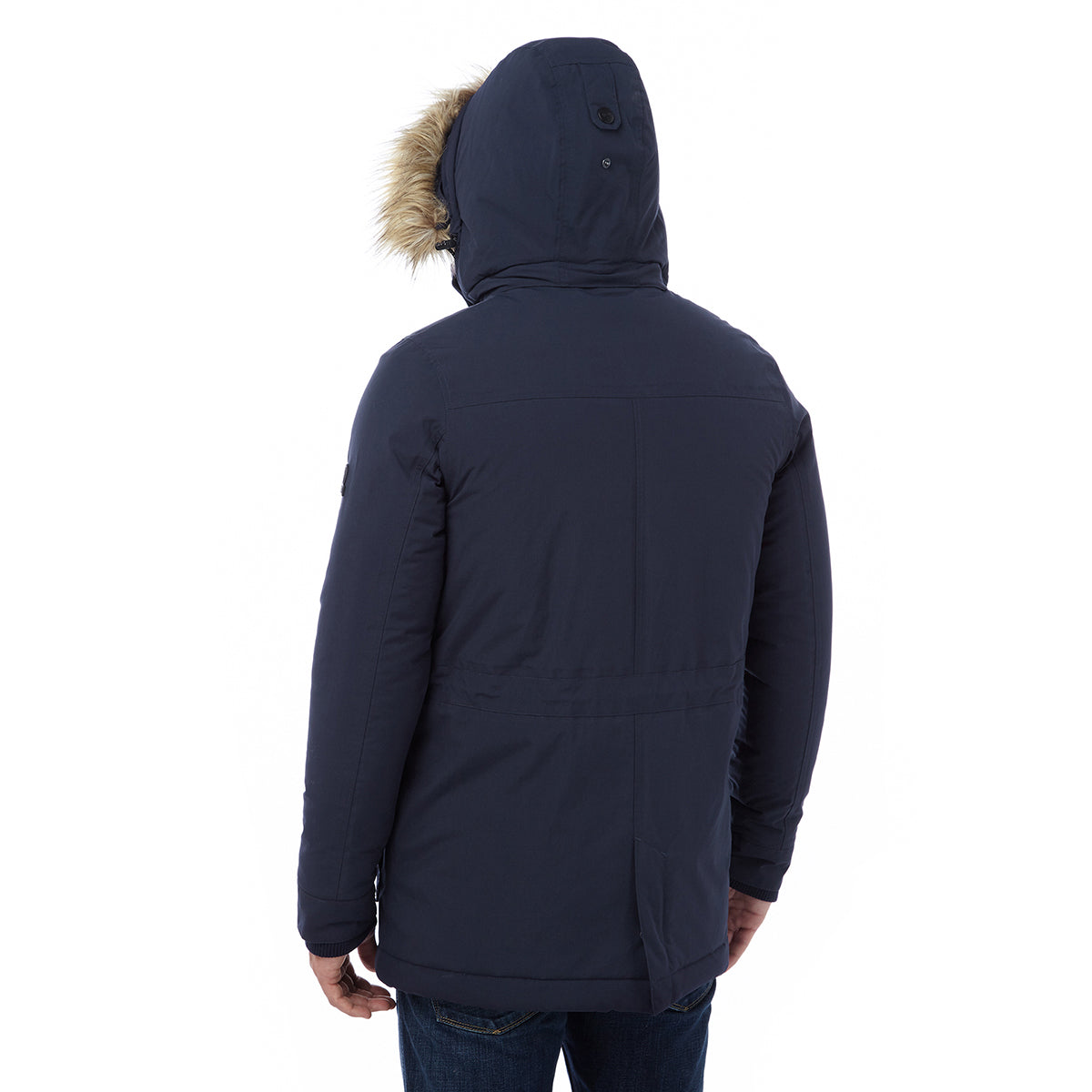 Superior Mens Milatex Jacket - Navy image 4