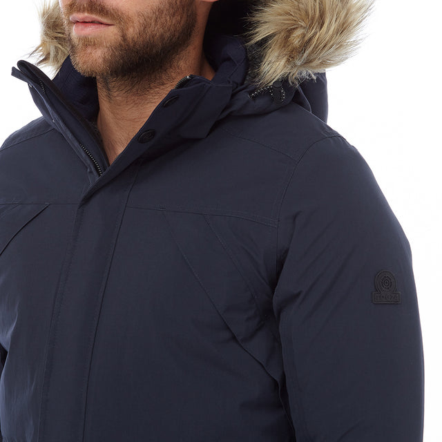 Superior Mens Milatex Jacket - Navy image 5