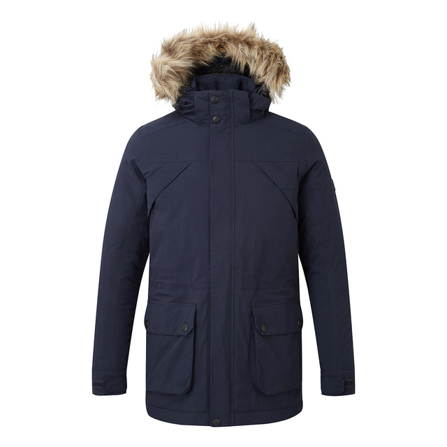 Superior Mens Milatex Jacket - Navy image 1