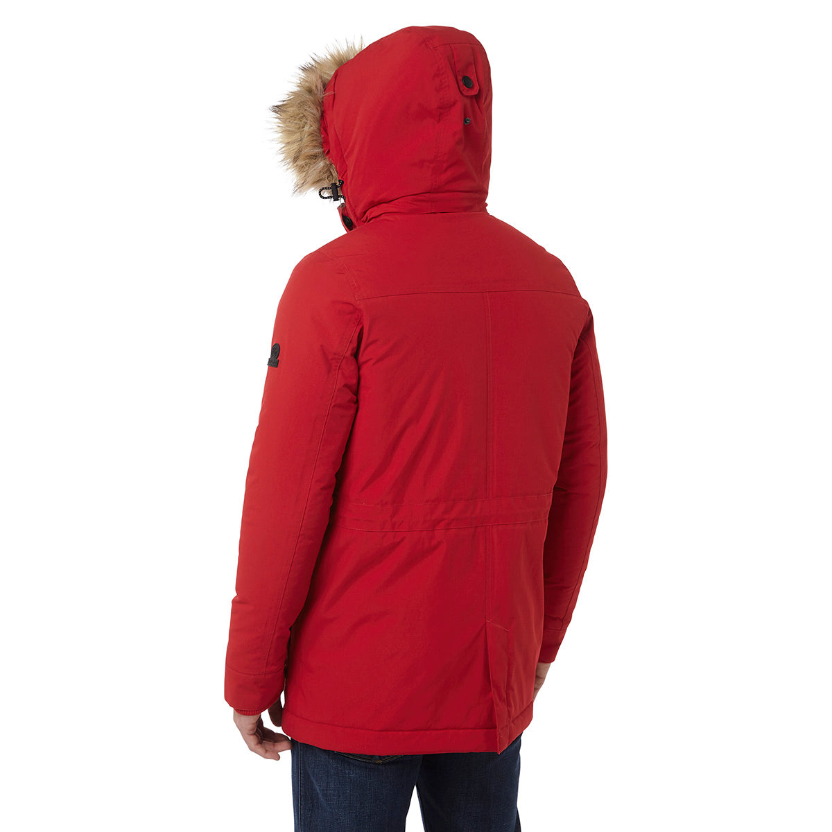 Superior Mens Milatex Jacket - Chilli Red image 4