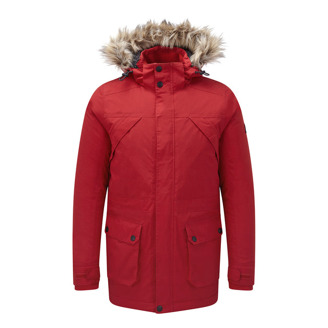 Superior Mens Milatex Jacket - Chilli Red image 1