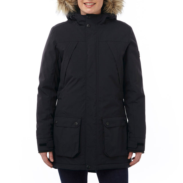 Superior Womens Milatex Jacket - Black image 2