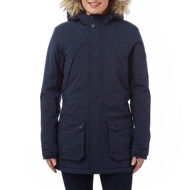 Superior Womens Milatex Jacket - Navy image 2