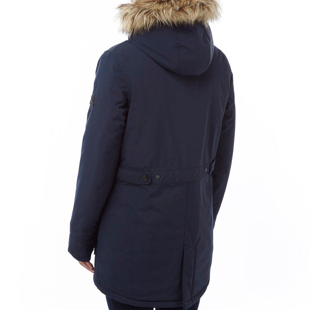 Superior Womens Milatex Jacket - Navy image 3