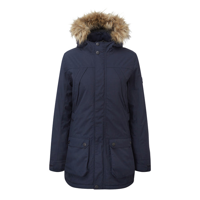 Superior Womens Milatex Jacket - Navy image 1