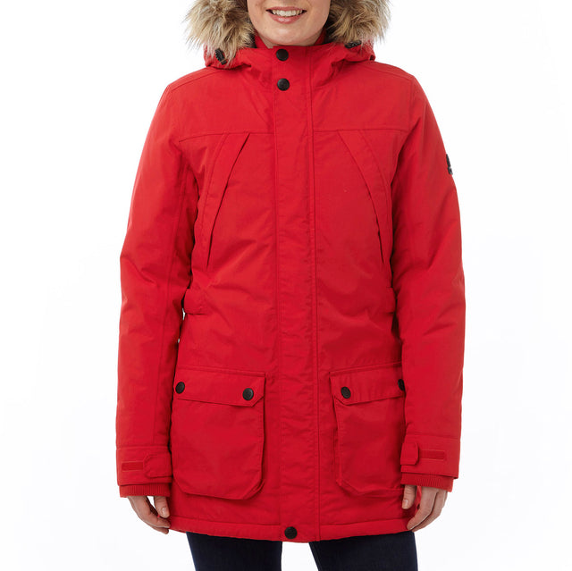 Superior Womens Milatex Jacket - Rouge Red image 2