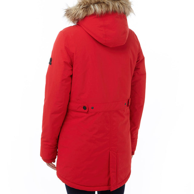 Superior Womens Milatex Jacket - Rouge Red image 3