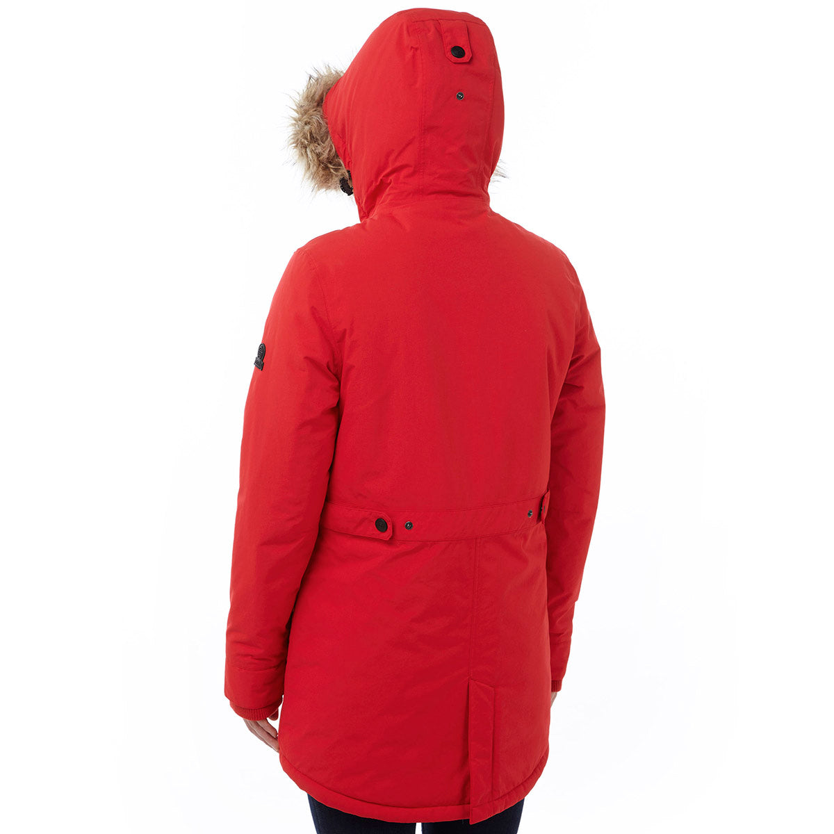 Superior Womens Milatex Jacket - Rouge Red image 4