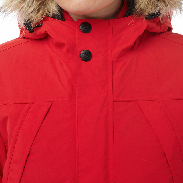 Superior Womens Milatex Jacket - Rouge Red image 5