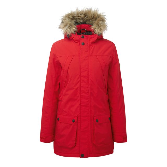 Superior Womens Milatex Jacket - Rouge Red image 1