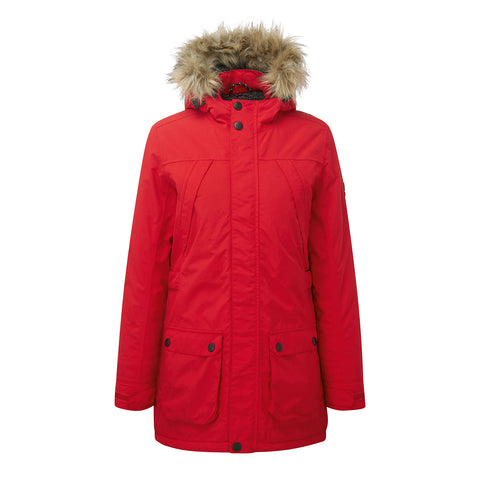 Superior Womens Milatex Jacket - Rouge Red