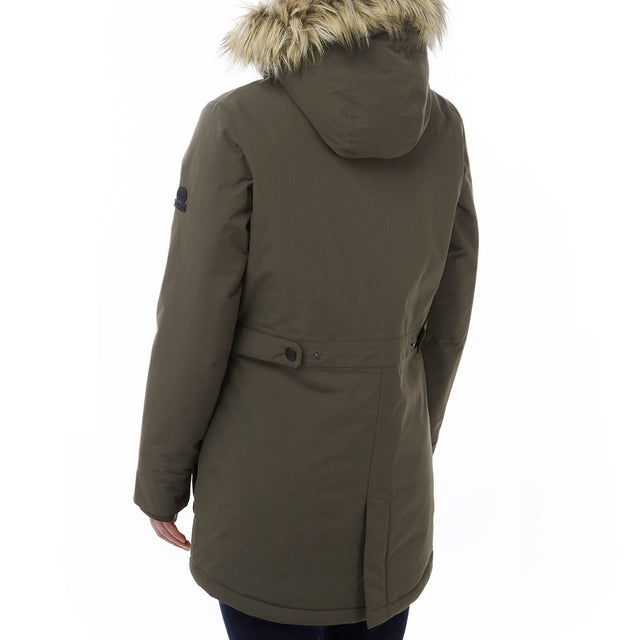 Superior Womens Milatex Jacket - Dark Khaki image 3