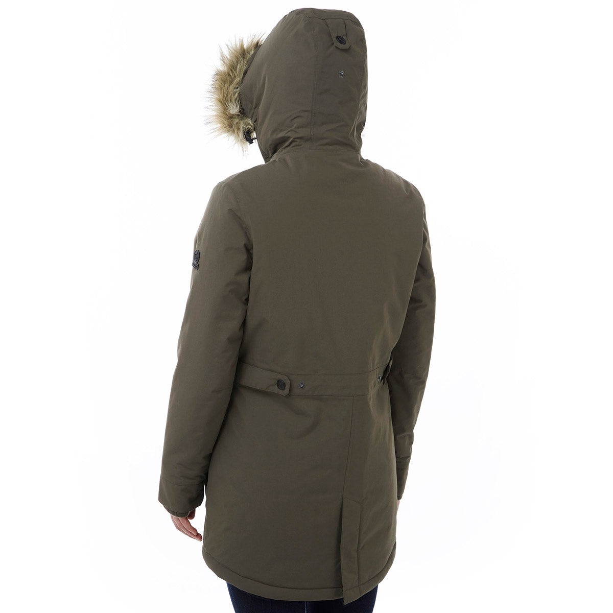Superior Womens Milatex Jacket - Dark Khaki image 4