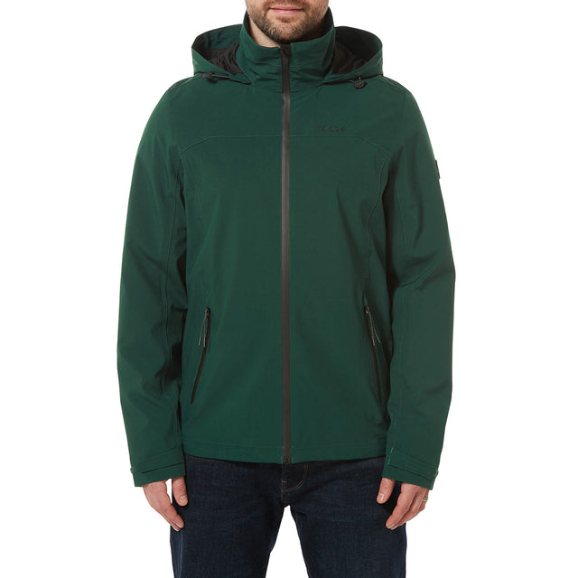 Sykes Mens Performance Waterproof Jacket - Forest Green image 2