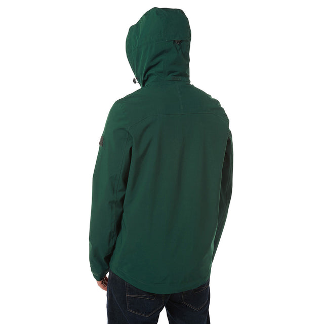 Sykes Mens Performance Waterproof Jacket - Forest Green image 3