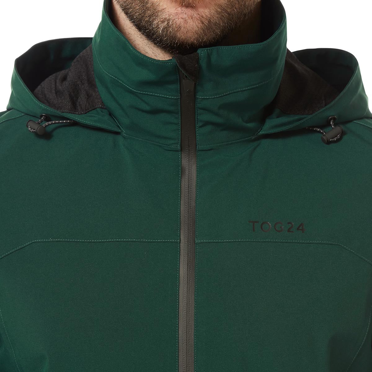 Sykes Mens Performance Waterproof Jacket - Forest Green image 4