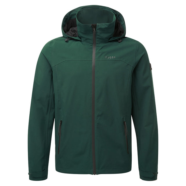 Sykes Mens Performance Waterproof Jacket - Forest Green image 1