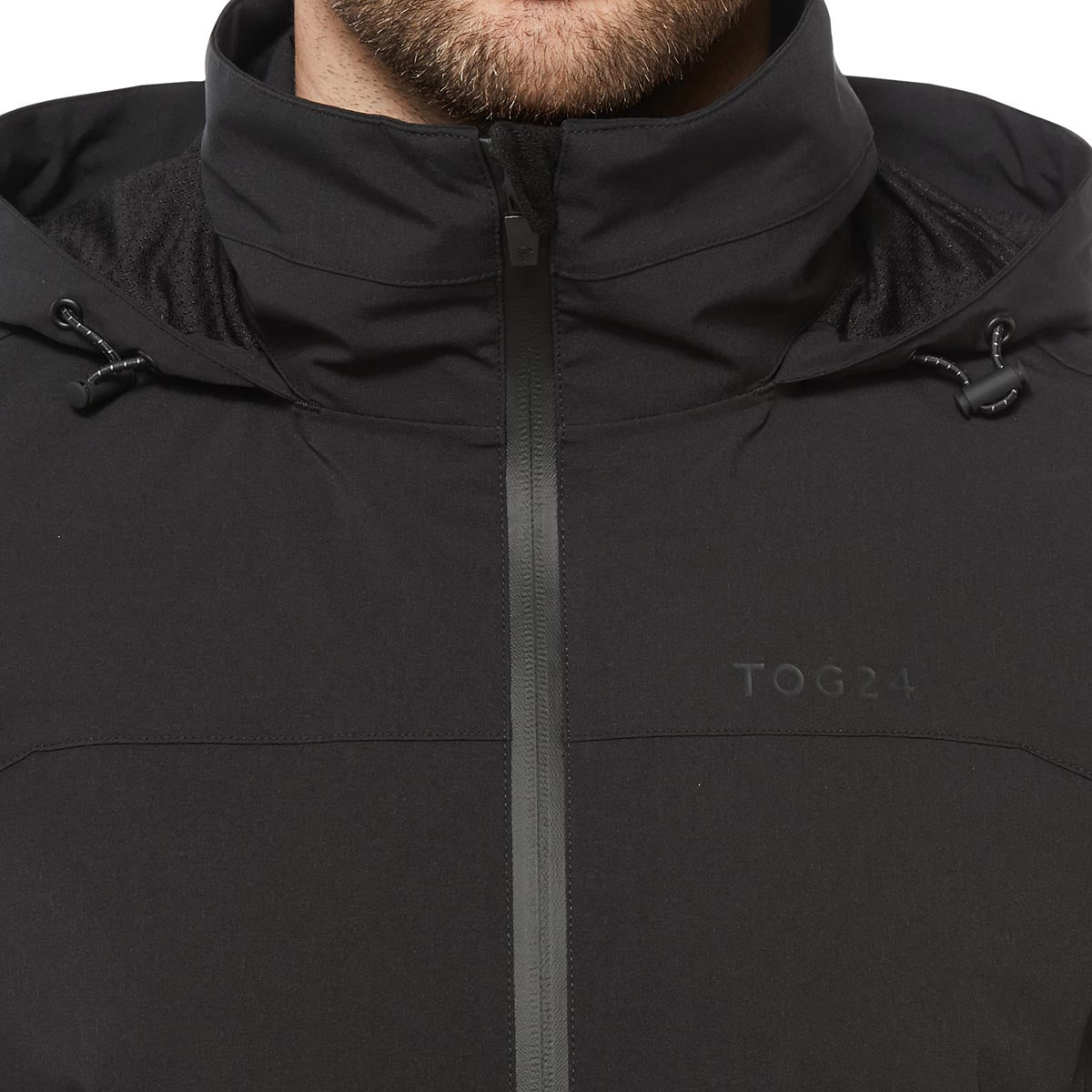 Sykes Mens Performance Waterproof Jacket - Black image 4
