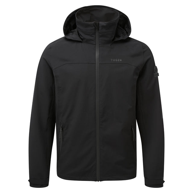 Sykes Mens Performance Waterproof Jacket - Black image 1