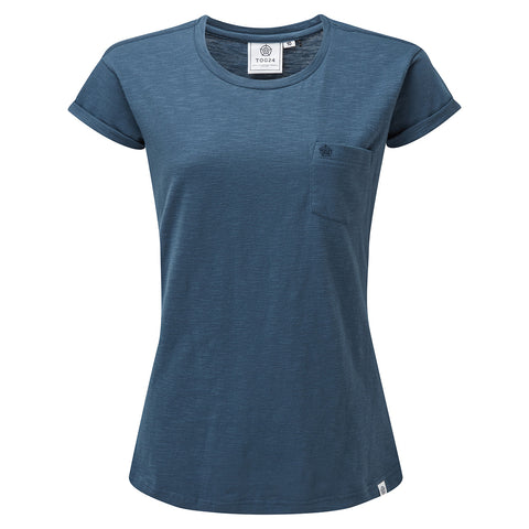 Syms Womens T-Shirt - Denim