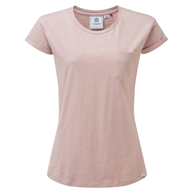 Syms Womens T-Shirt - Chalk Pink image 1