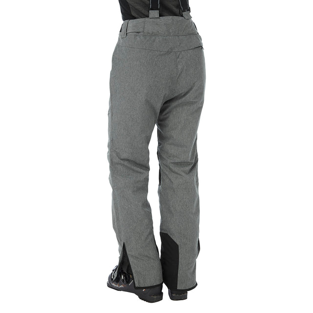Taylor Womens Milatex Salopettes - Grey Marl image 3