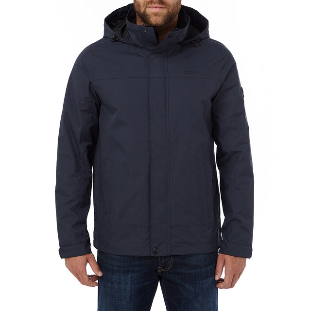 Thorne Mens Milatex Jacket - Navy image 2