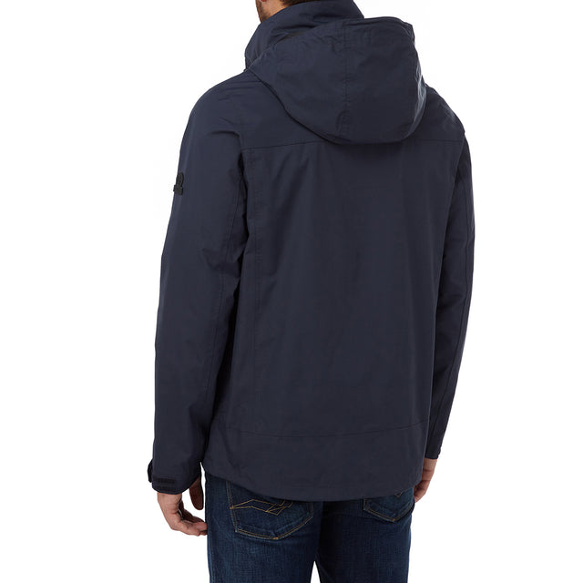 Thorne Mens Milatex Jacket - Navy image 3