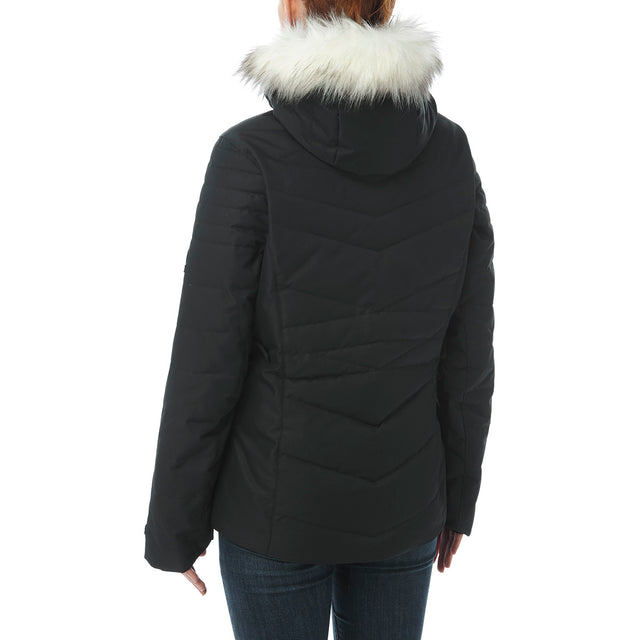 Tidal Womens Down Ski Jacket - Black image 3