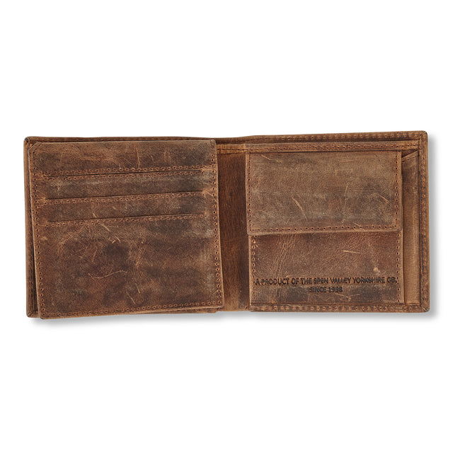 Barnet Leather Wallet - Brown image 2