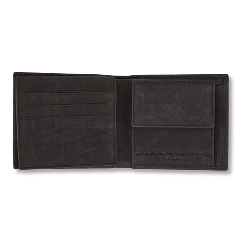 Barnet Leather Wallet - Black