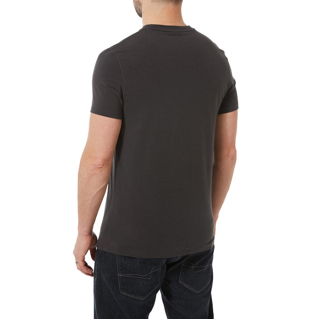 Towler Mens Performance Graphic T-Shirt - Charcoal image 3